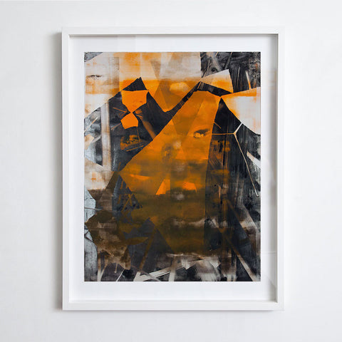 Monoprint #1, Chris Trueman 2012