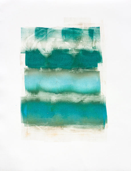 Monoprint #3, 2012. Chris Trueman