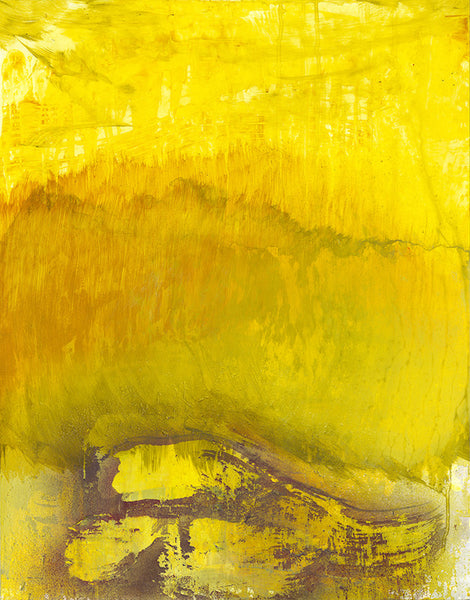 Natural Selection - Yellow, 2015. Chris Trueman