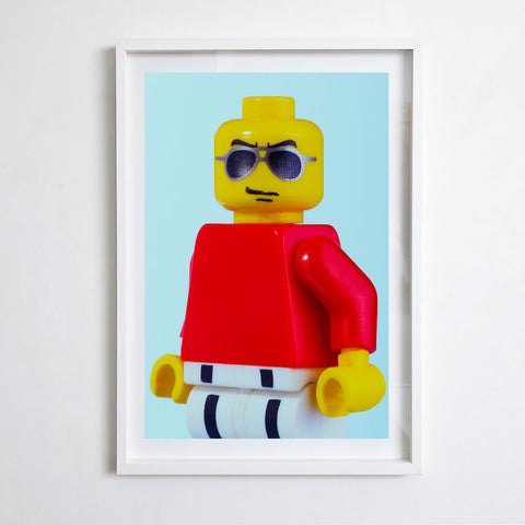 Fashion LEGO Man, 2015. David Edney