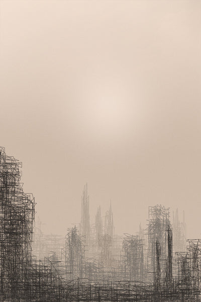 Cityscape, 2017. David Edney