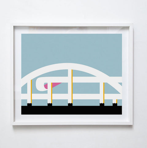 Riverside Expressway, 2015. Limited Edition Print by Gert Geyer