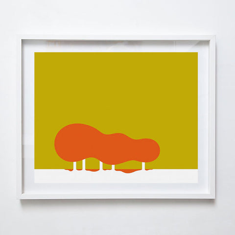 Flame Trees, 2015. Limited Edition Print by Gert Geyer