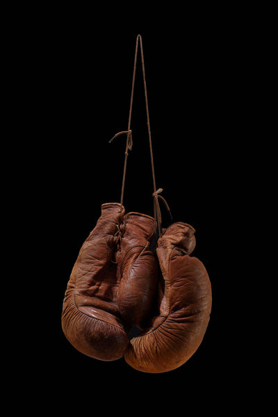 Hanging up the Gloves - Bronze, 2017. Juan Leyva
