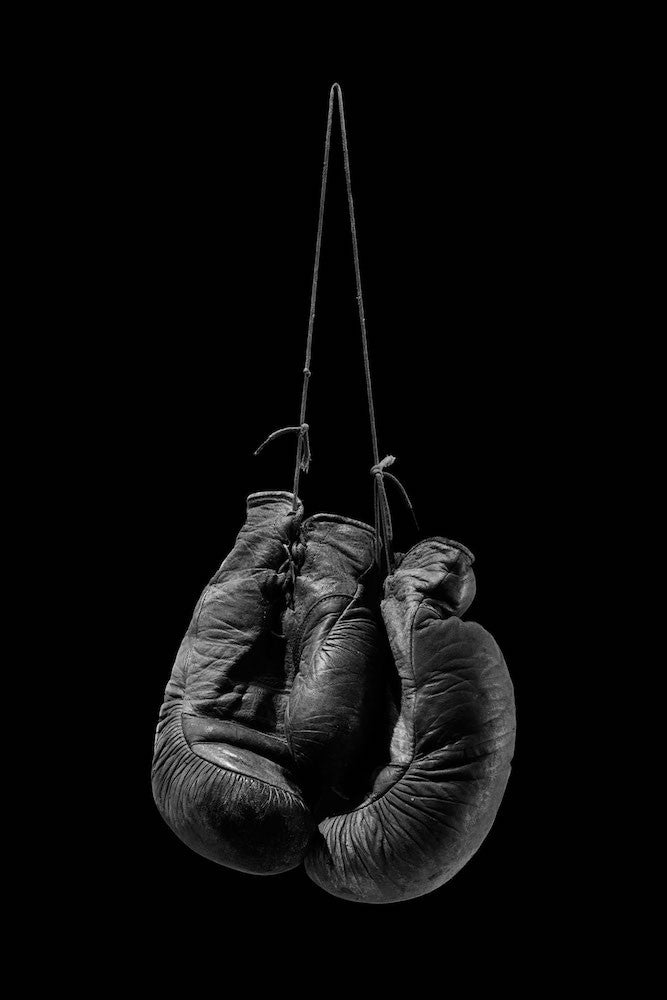 Hanging up the Gloves - Silver, 2017. Juan Leyva