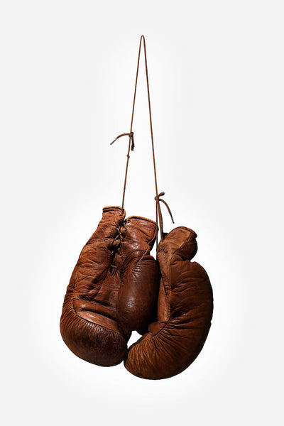 Hanging up the Gloves, 2017. Juan Leyva