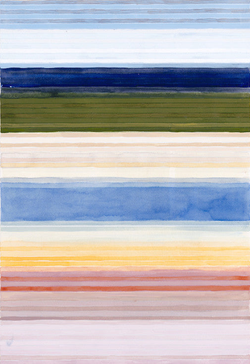 Color Bands - Yellowstone Light, 2014. Julika Lackner
