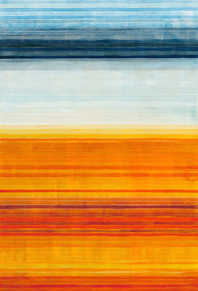 Color Bands - Yellowstone Orange, 2014. Julika Lackner