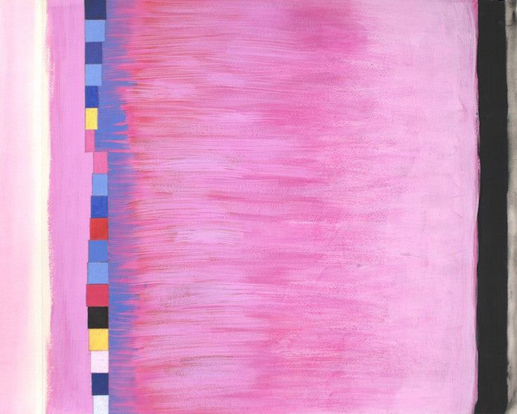 Blue & Pink Thanks to OAB, 2003. Jeremy Gilbert-Rolfe