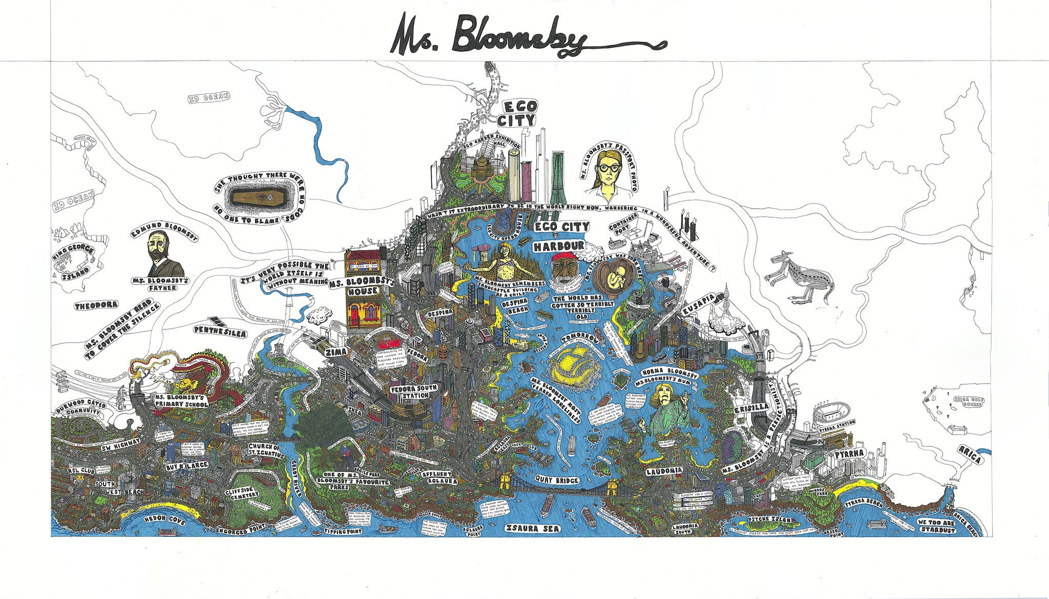 Ms Bloomsby, Jeremy Smith 2013