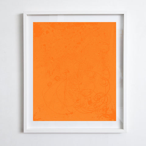 Untitled Orange, 2016. Kimberly Rowe