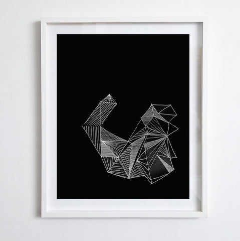 Angle - Negative, 2014. Print by Lauren Simmonds