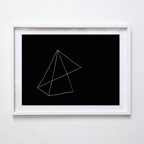 Folded III, 2015. Print by Lauren Simmonds