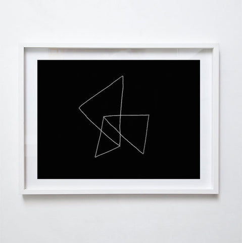 Folded II, 2015. Print by Lauren Simmonds