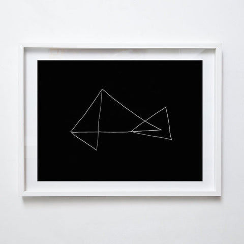Folded I, 2015. Print by Lauren Simmonds