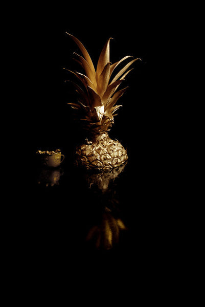 Golden still life II, 2010. Print by Margarita Dittborn Valle