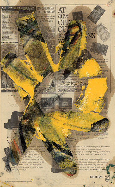 Transfer - Yellow, 1992. Michael Goldberg