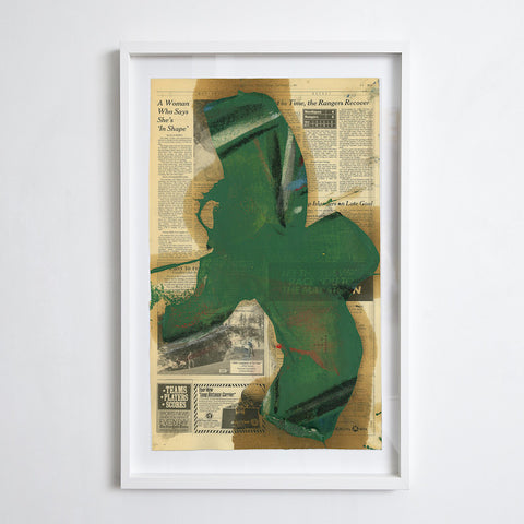 Transfer - Green, 1992. Michael Goldberg