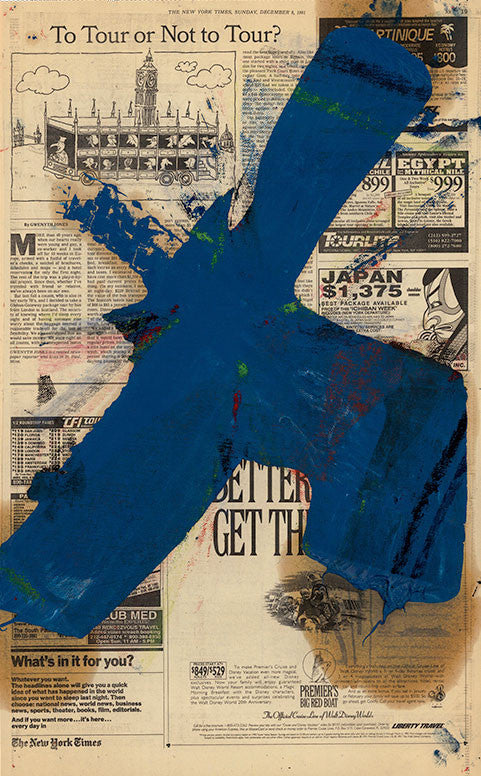 Transfer - Blue, 1992. Michael Goldberg