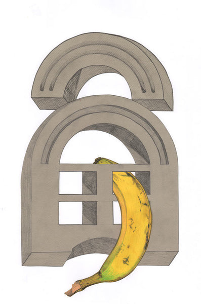 Banana #1 2012. Print by Michelle Matson