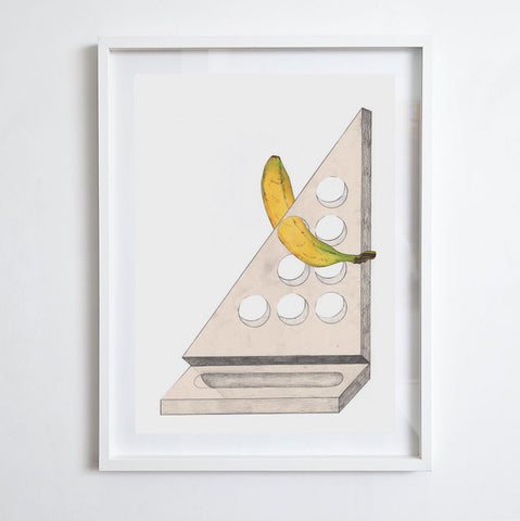 Banana #5, 2012. Print by Michelle Matson