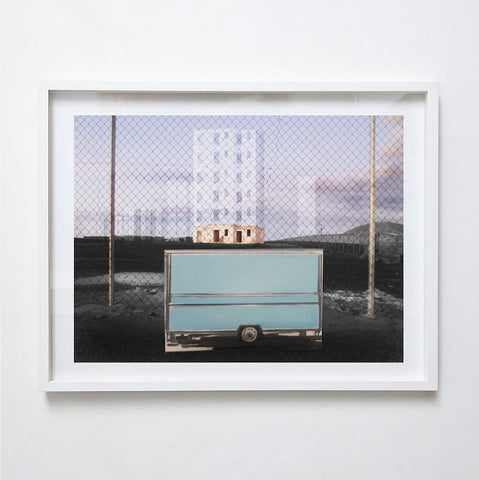 Future Hotels, 2014. Print by Michael Wei  k ppel