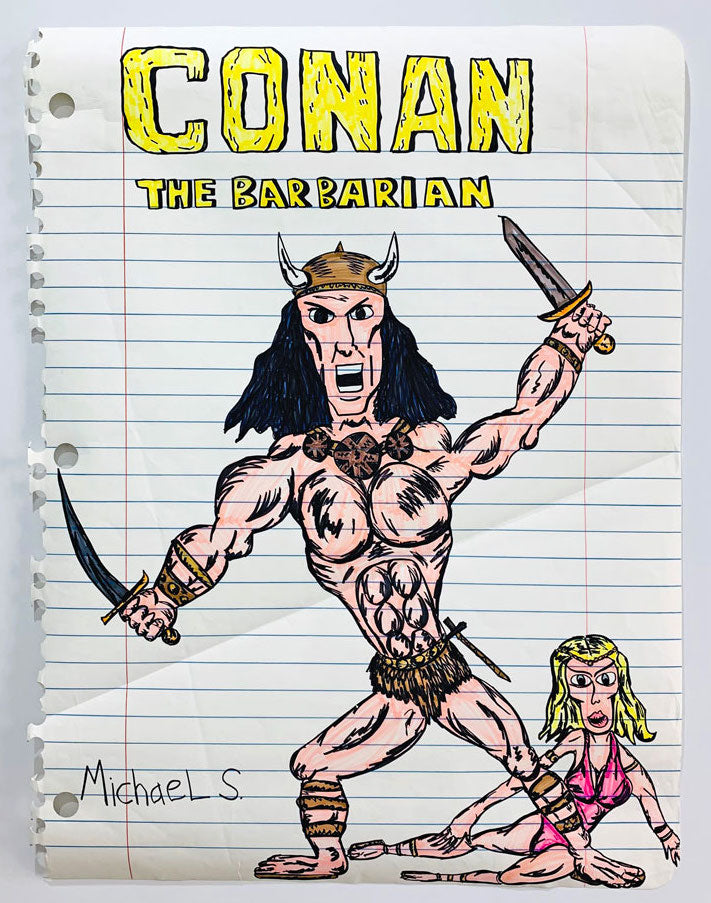 Conan The Barbarian, 2008. Michael Scoggins
