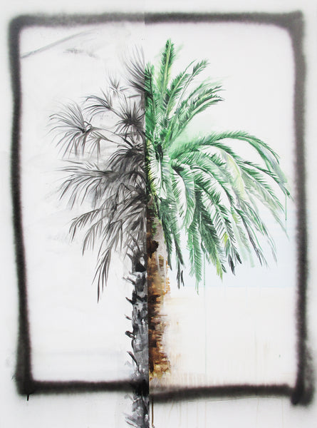 I Really Can't Paint a Palm Tree, 2018. Michael Weißköppel