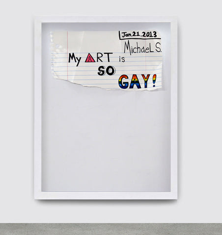 Gay Art, 2013. Michael Scoggins