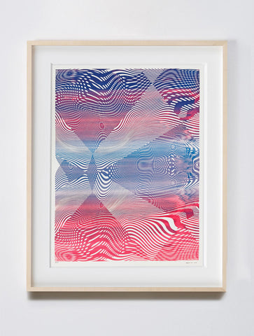 Untitled Screenprint PB, 2018. Chris Trueman