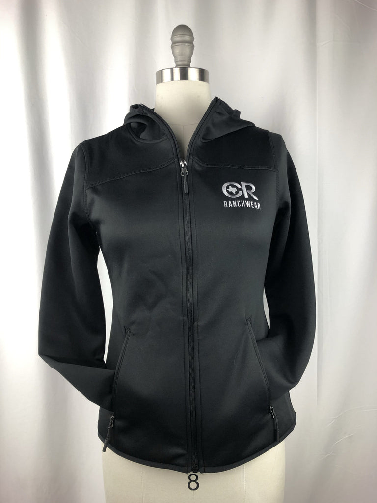 CR RanchWear CR Women's Black Full-Zip Performance Jacket
