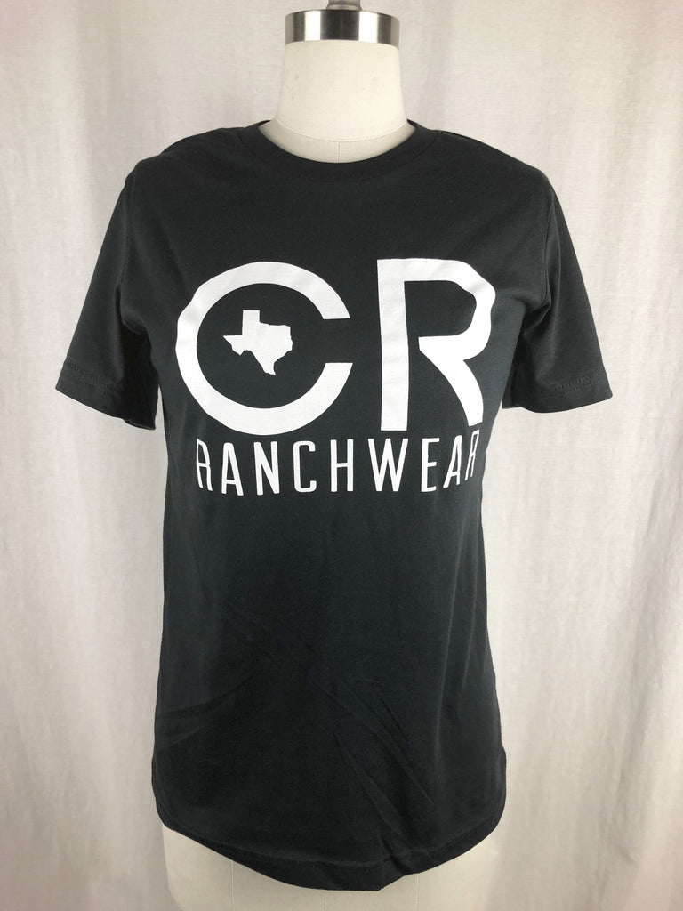 CR RanchWear Physical CR Black Tee
