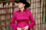 CR RanchWear Physical CR Classic Fuchsia Cotton Sateen