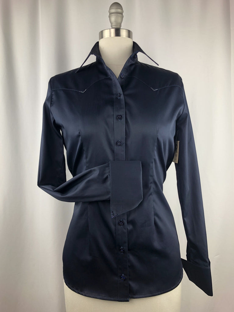 CR RanchWear Physical CR Classic Midnight Navy Cotton Sateen