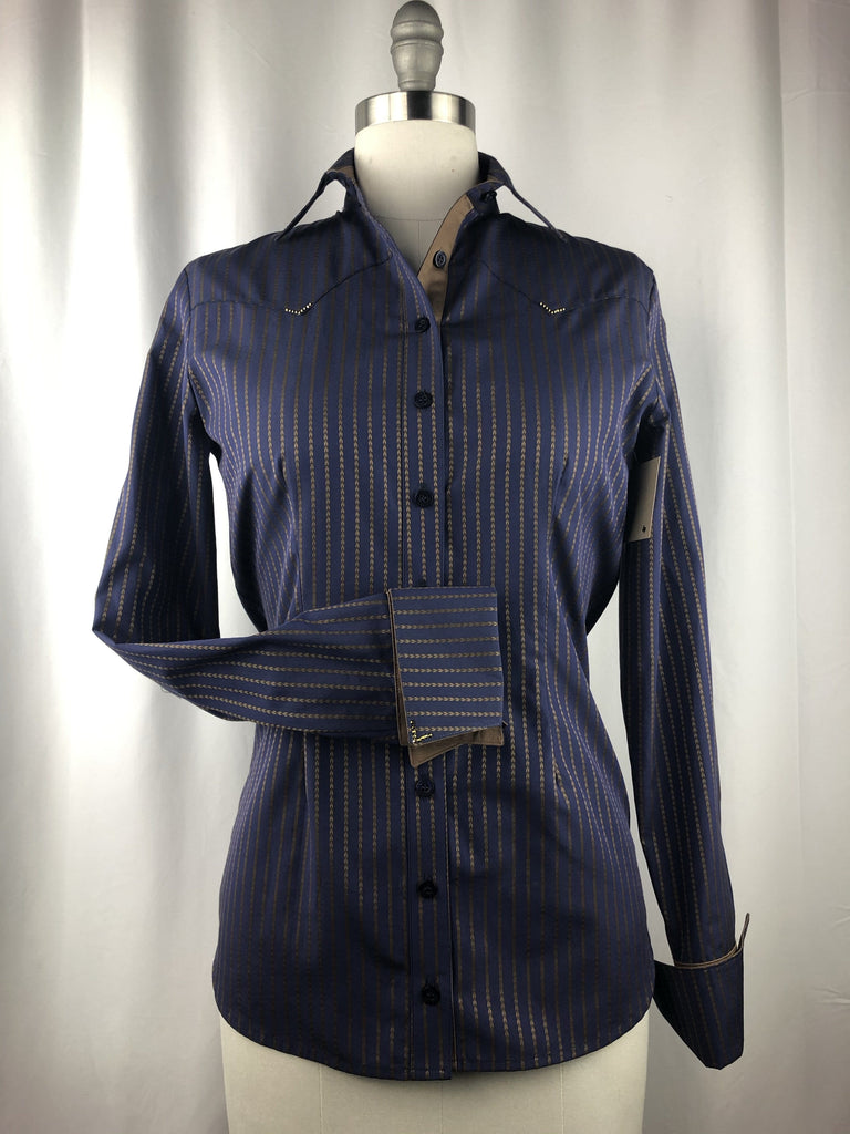 CR RanchWear Physical CR Classic Navy with Bronze Braid Italian Cotton