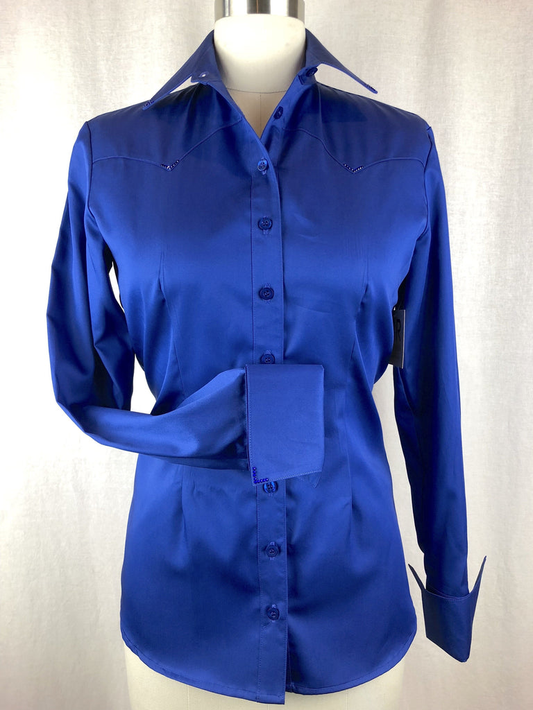CR RanchWear Physical CR Classic Royal Blue Cotton Sateen