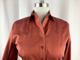 CR RanchWear Physical CR Classic Rust Cotton Sateen