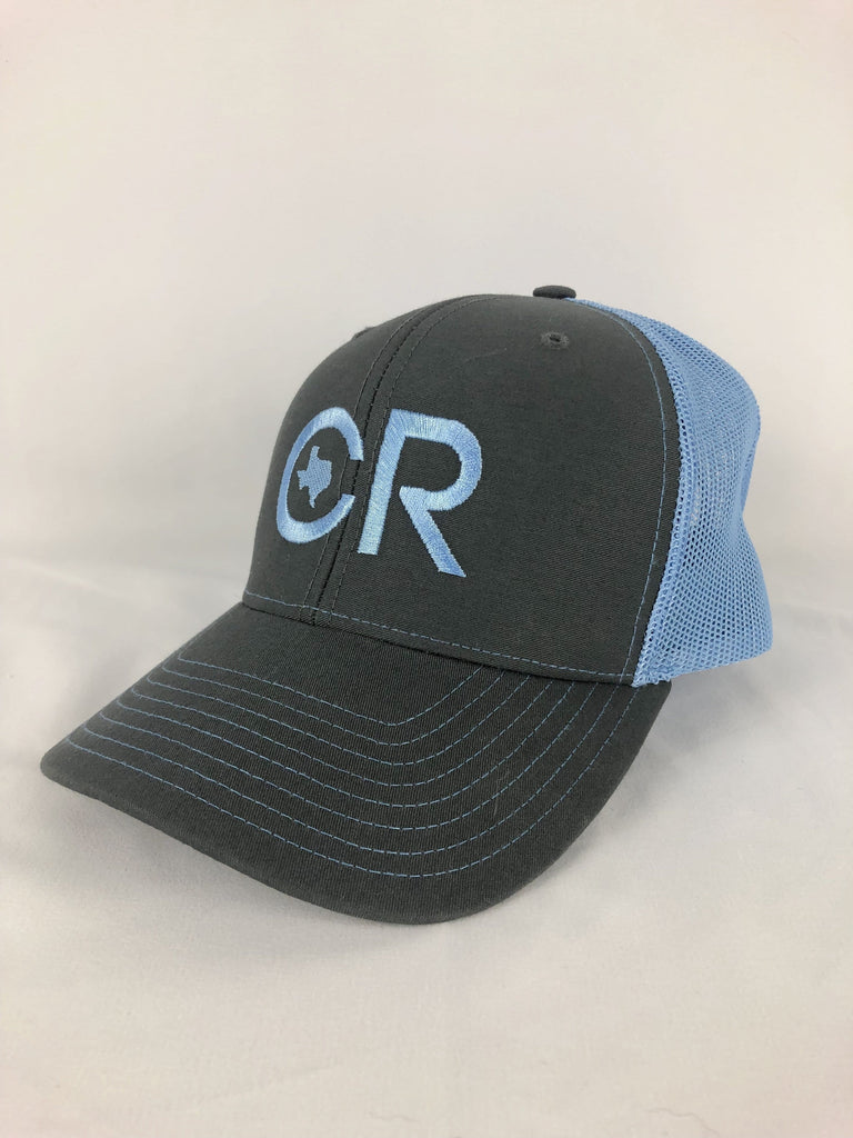 CR RanchWear Physical CR Denim and Gray Mesh Hat