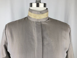CR RanchWear Physical CR English Brown and White Herringbone Italian Cotton