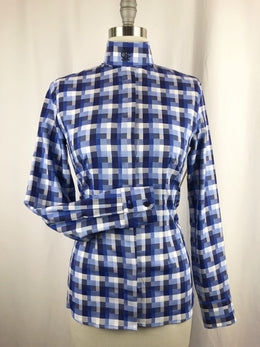 CR RanchWear Physical CR English Field of Blues Italian Cotton