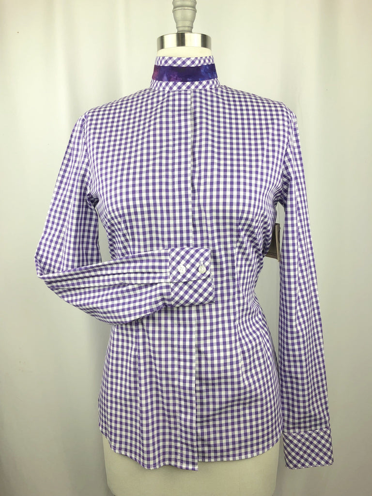 CR RanchWear Physical CR English Purple Gingham Cotton