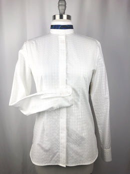 CR RanchWear Physical CR English White Basketweave Italian Cotton