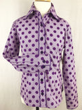 CR RanchWear Physical CR Girls Purple Polka Dot