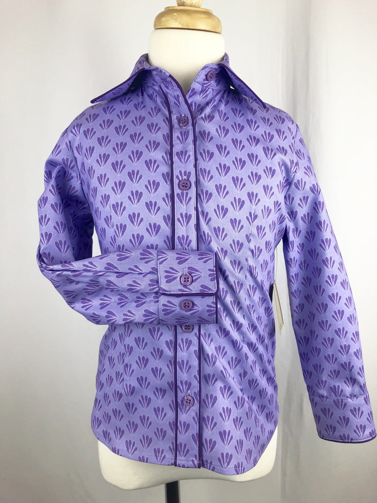 CR RanchWear Physical CR Girls Purple Scallops