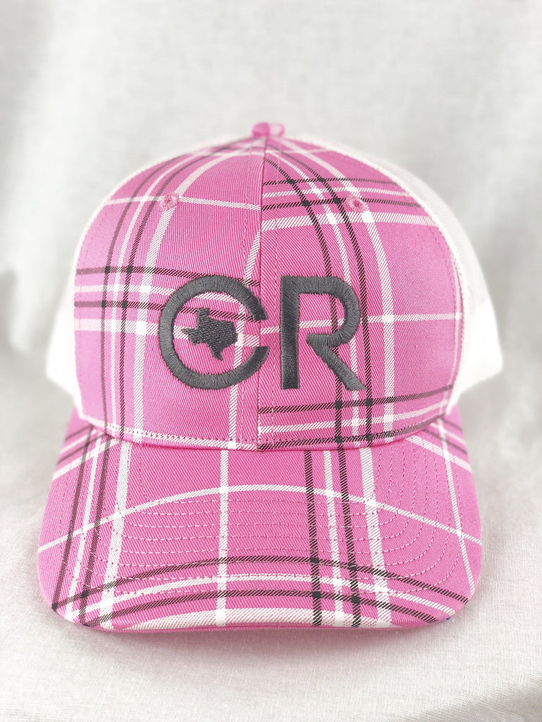 Buy Cr Pink Plaid Hat At Cr Ranchwear For Only 29 00