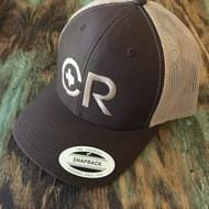 CR RanchWear Physical CR Ranchwear Brown Snap Back Hat