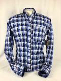 CR RanchWear Physical CR Western Pro Field of Blues Italian Cotton