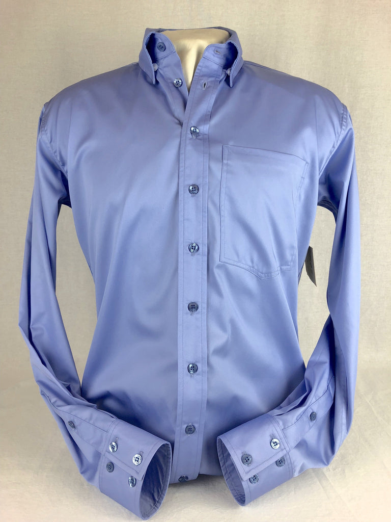 CR RanchWear Physical CR Western Pro Periwinkle Cotton Sateen