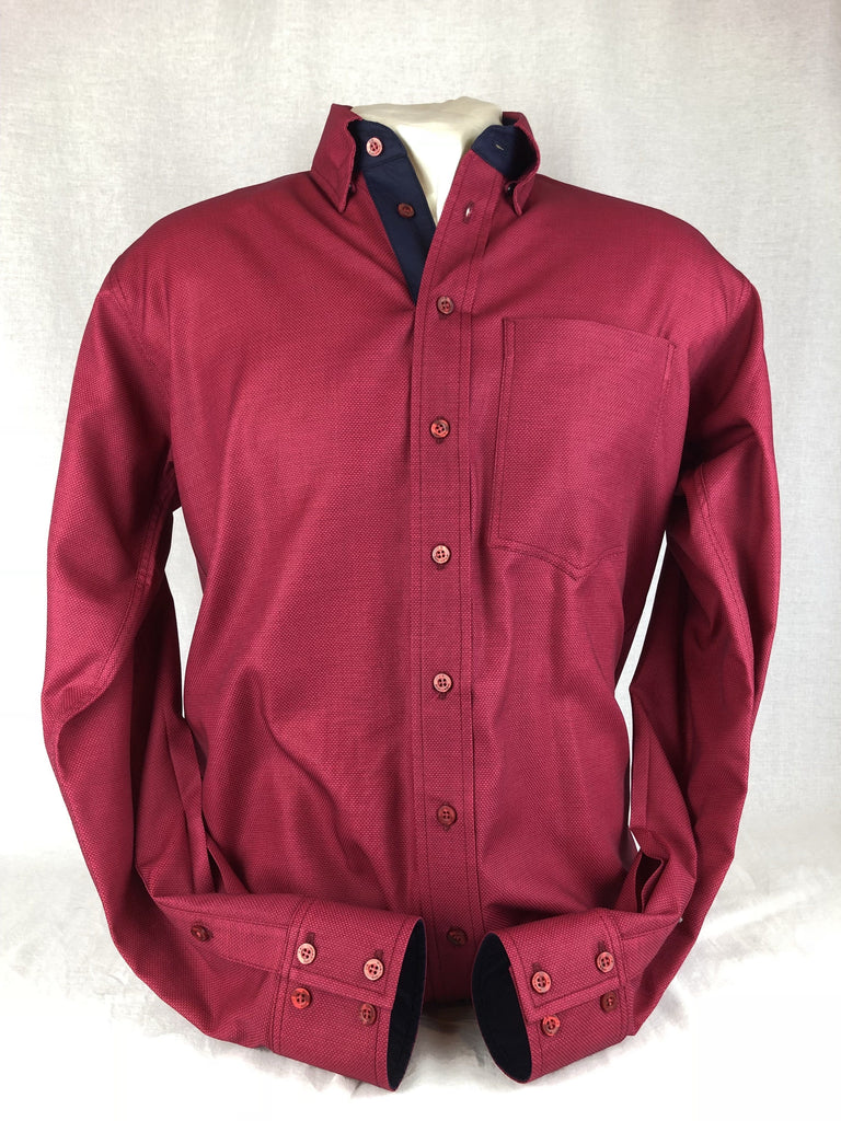 CR RanchWear Physical CR Western Pro Ruby Red Premium Cotton