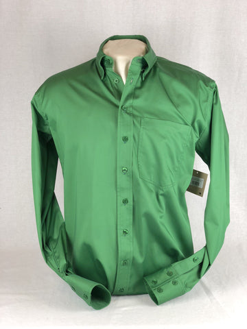 CR RanchWear Physical CR Western Pro Shamrock Green Cotton Sateen